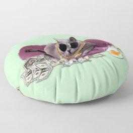 GANGSTA CAT Floor Pillow