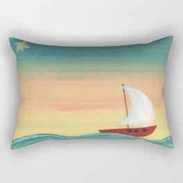 The North Star Rectangular Pillow
