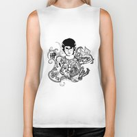 potter Biker Tanks featuring Harry Potter by Ink Tales