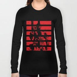Snake Eyes Arashikage Gi Joe Cobra Storm Shadow Ninja Action Figures Illuminati T-Shirts Long Sleeve T-shirt