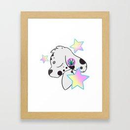 Dooby Dalmation Framed Art Print