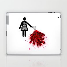 The wrong way to use your mind Laptop & iPad Skin