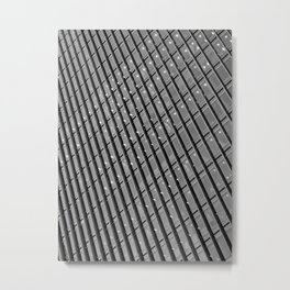 Canary Wharf  Abstract Metal Print