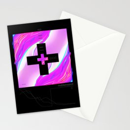 double plus good Stationery Cards