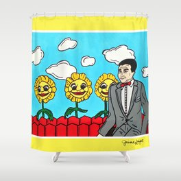 Pee Wee's Playhouse Shower Curtain
