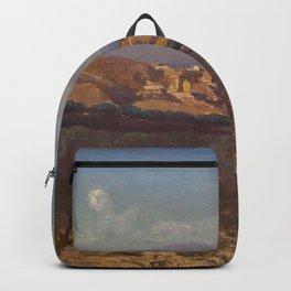 """Jean-Baptiste-Camille Corot """"Villeneuve-les-Avignon"""" Backpack"""