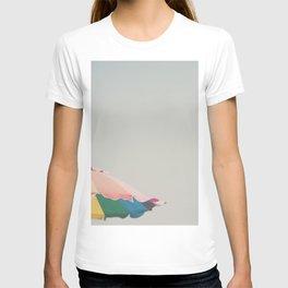 a pretty beach umbrella ... T-shirt