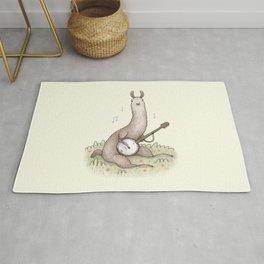 Banjo Llama Rug