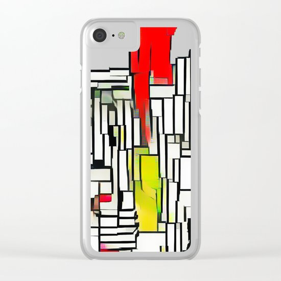City in the summer Clear iPhone Case
