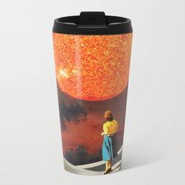 Your Heart Is The Sun Metal Travel Mug