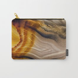 Spearhead Agate Carry-All Pouch