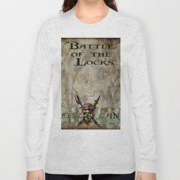 Battle of the locks bywhacky Long Sleeve T-shirt