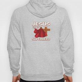 Funny Super Hero Jesus Christ Priest Quote Gift Hoody