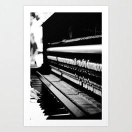 Piano Guts Art Print