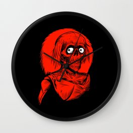 Longing for Brains Wall Clock