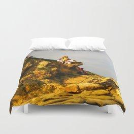 Huichol Sunset Duvet Cover