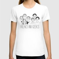 cactei T-shirts featuring Freaks and Geeks by ☿ cactei ☿