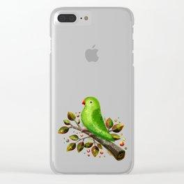 Parrot Bird Clear iPhone Case