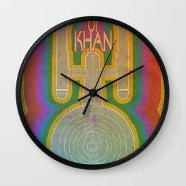 The Khan Slayer Wall Clock