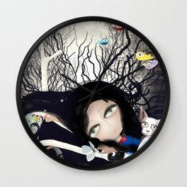 Joy Nature Pet Light Moonlight Wall Clock