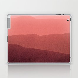 gradient landscape red Laptop & iPad Skin