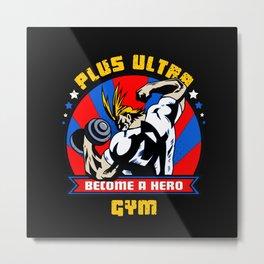 Plus Ultra Gym Metal Print