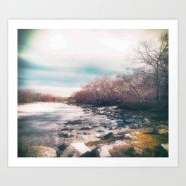 Winter Thaw Art Print