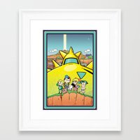earthbound Framed Art Prints featuring We Are Earthbound by TavisMaiden