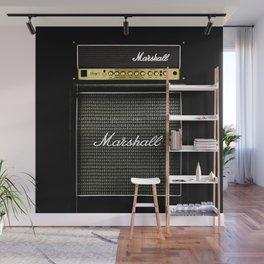 Gray amp amplifier Wall Mural