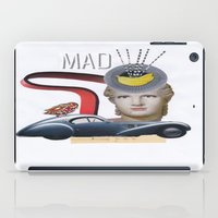 mad iPad Cases featuring mad by fromdelphine