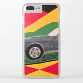 Mustang convertible Clear iPhone Case