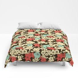 Flower Market Comforters