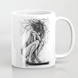Sexy Woman Squatting Coffee Mug
