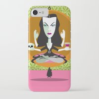 mid century iPhone & iPod Cases featuring Mid-Century Monster by Greenfuzz