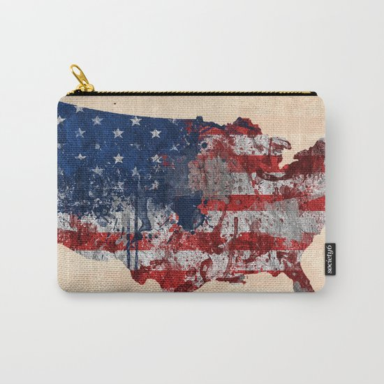 america map  Carry-All Pouch