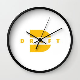 Draft Wall Clock