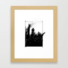 Scorched Framed Art Print