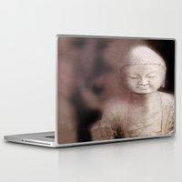buddah Laptop & iPad Skins featuring Buddah 1 by Linda K. Photography & Design