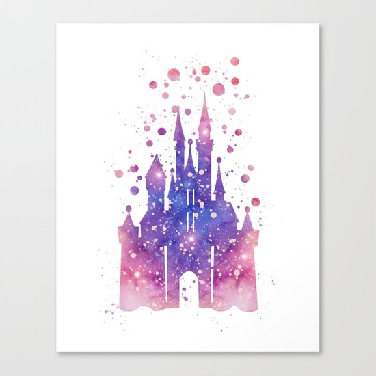 Disneys Cinderella Castle  Canvas Print