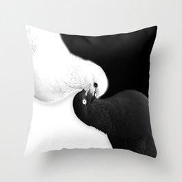 Balance Yin Yang by B & BB Throw Pillow