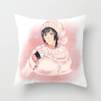 dmmd Throw Pillows featuring Sei by Mattie