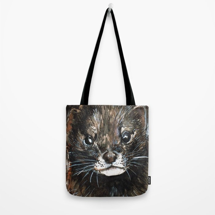 European Mink Tote Bag