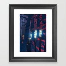 Anabelle, the human Framed Art Print