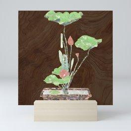 Lilly Pad Inlay Mini Art Print