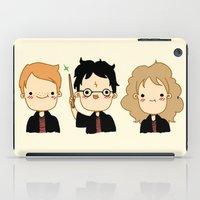 potter iPad Cases featuring Happy Potter by Keasy