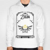 the legend of zelda Hoodies featuring Zelda legend - Hyrulian Emblem by Art & Be