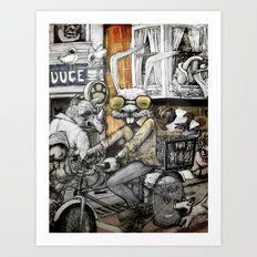 My Neighborhood Art Print