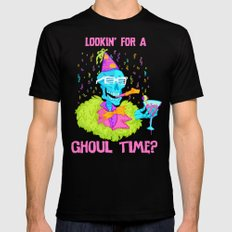 Lookin' for a ghoul time? Mens Fitted Tee Black LARGE