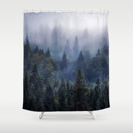 The Visionary Echo #society6 Shower Curtain