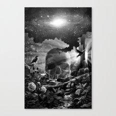 XIII. Death & Rebirth Tarot Card Illustration (Alternative Version) Canvas Print